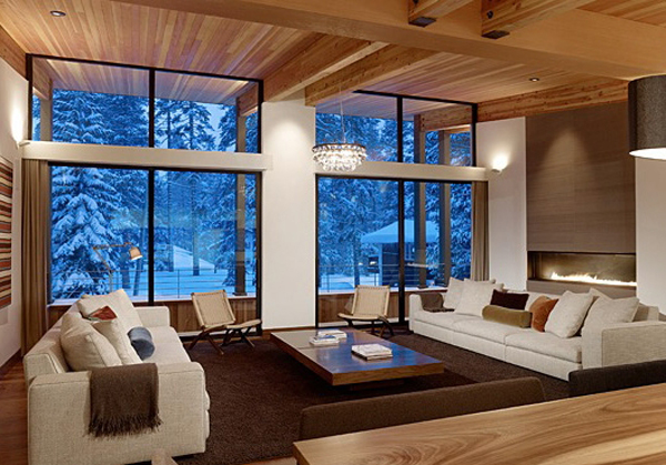 Screen shot 2010 06 06 at 6.42.05 PM1 Winter Dream Home in a Small Village in California: Sugarbowl Residence