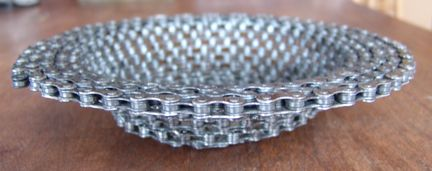 biciclechainbowl Cool Bicycle Chain Bowl