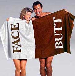 Butt Face Towel