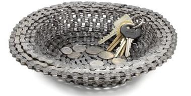 Cool Bicycle Chain Bowl