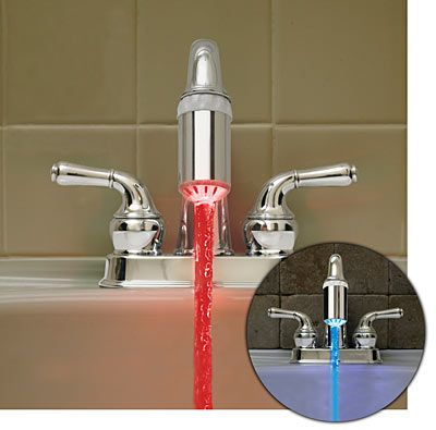 color changing faucet