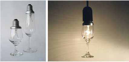 Glassbulbs with Two Lives