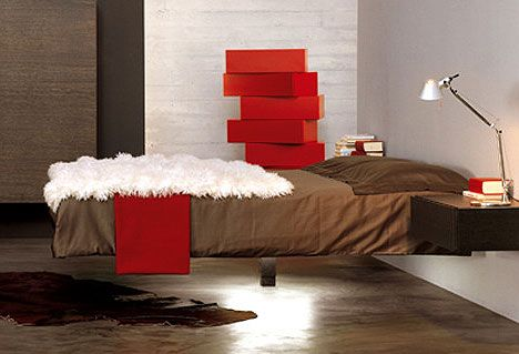 Fluttua The Floating Bed Freshome Com