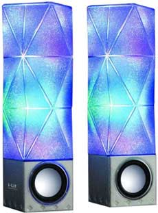 I-Lit Sound Illuminating Speakers