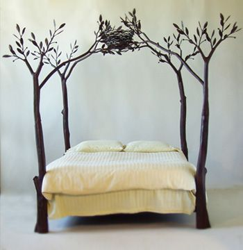 tree bed Tree Bed   Bring Nature in Your Home
