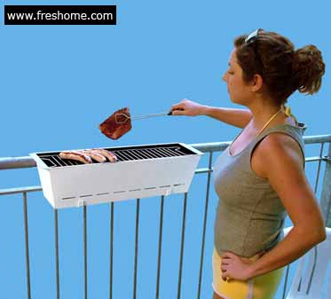 Bruce – The Balcony Barbecue Grill