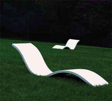 Float Wave Chaise