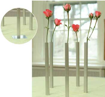Magnetic Vases – Magically Standing on End