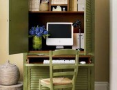 seymour home office armoire 170x130 Incredible Office Space Abundant in Light and Great Design