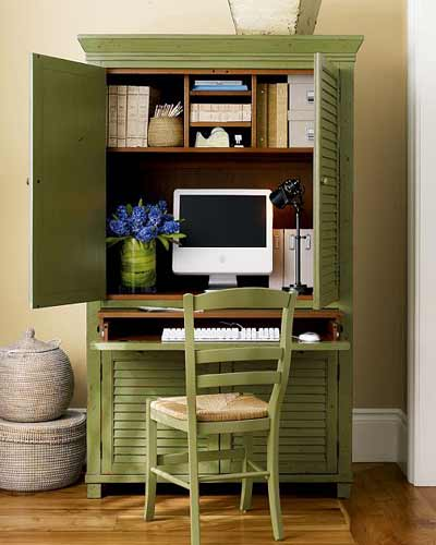Elegant Seymour Home Office Armoire