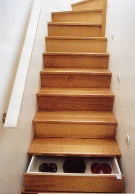 Use Stairs to Store Something