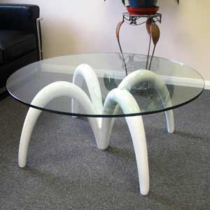 White Spider Table