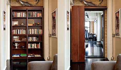 Secret Passage in Your Home – Woodfold Bookcase Doors