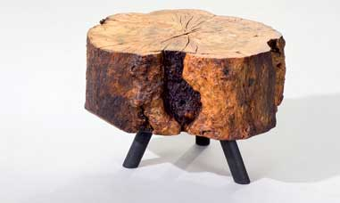 Wood Table/Stool by Albero