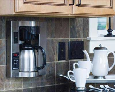 Built-in-wall Coffee Maker – Brew Express