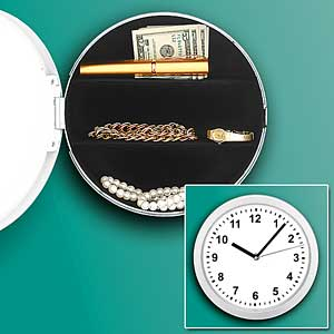 Clock Safe Perfect for Hiding Goods