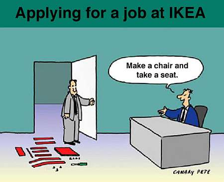 Ikea Employe Job Test