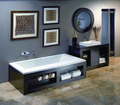 Metro 2 Bathtub and Furniture