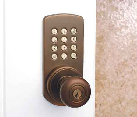 Secure Your Home with This Touchpad Lockset Doorknob