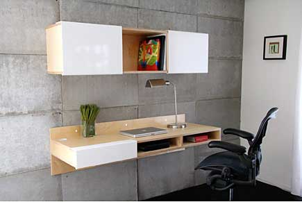 Wall Mounted Desk Office