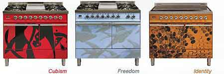 Britannia Couture range cookers by Avsh Alom Gur
