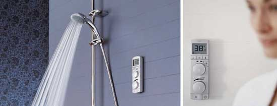 Wireless Shower Control System – Grohtherm