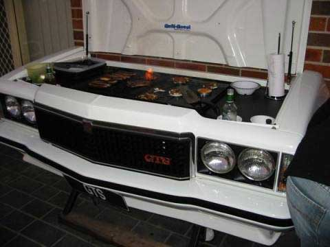 Holden Monaro GTS Turned into a Barbeque Grill