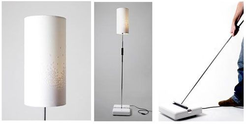 Spruce – Lamp and Floor Sweeper