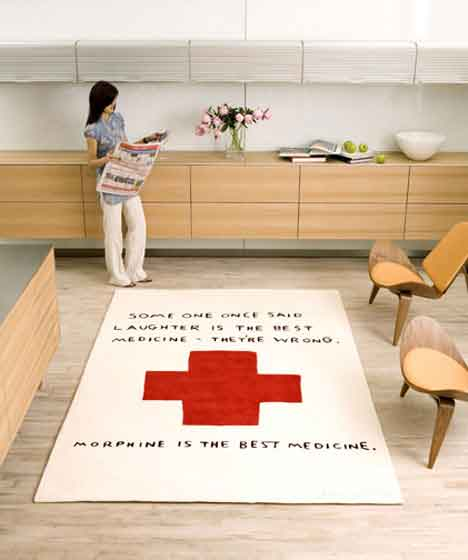 Dan Golden Funny Rugs Collection