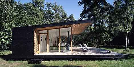 Summer House by Christensen & co. Arkitekter :  timber-built summer cabin weekend party modern summer