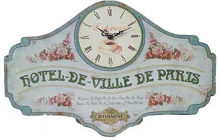 Hotel-de-Ville de Paris Wall Clock