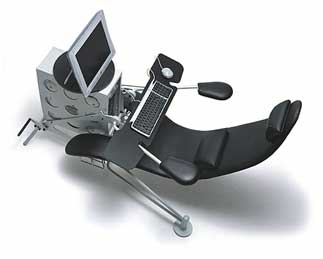 Netsurfer Chair Ideal for Computer Addicts