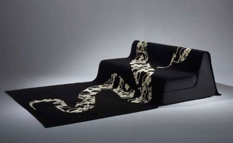 Dune Sofa Taking Rugs To Another Level