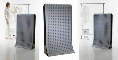 Waterless Washing Machine Cleans Clothes With Nothing But Air