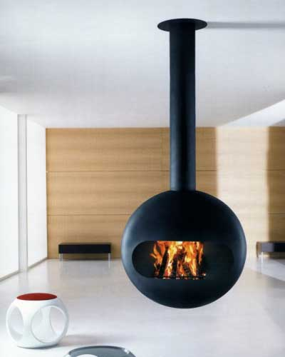 Modern Fireplace from Chimney Anthrax