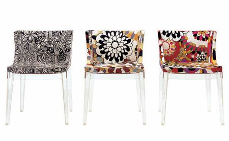 Mademoiselle Missoni Chair by Philippe Starck