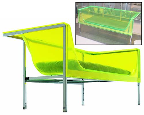 Phantom Semi-transparent Couch