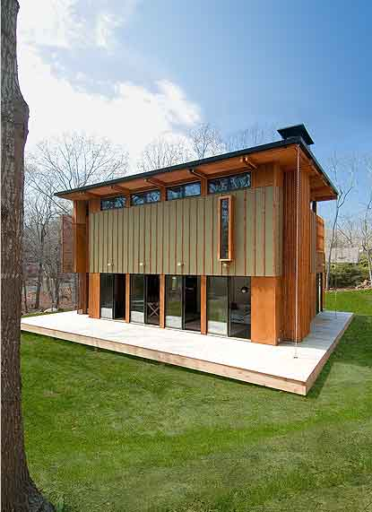 Prefabricated House – Upcher by Bates Masi