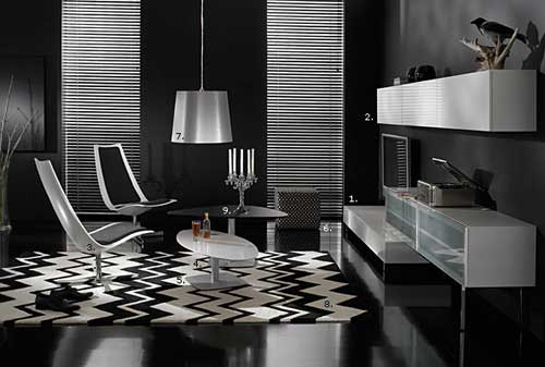 Interior Design – Black & White