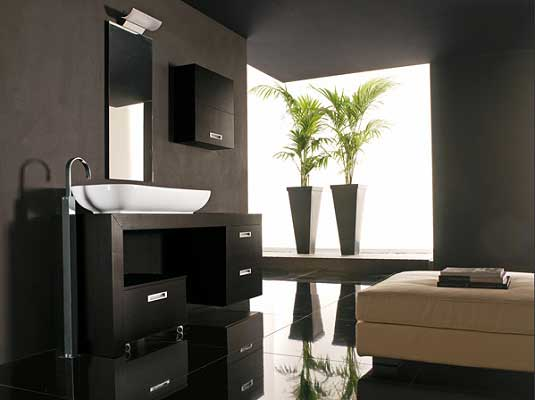 Luce line brings the best of contemporary Italian design into your bathroom