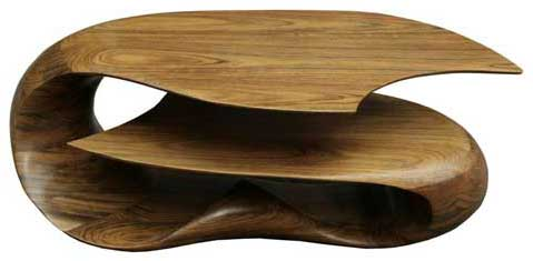 Riptide Table by Michael Coffey