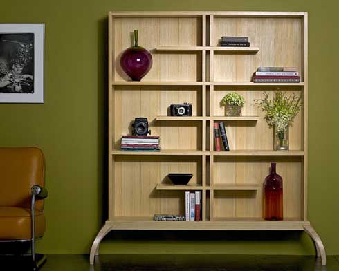 Bamboo Shelving from Iola Design