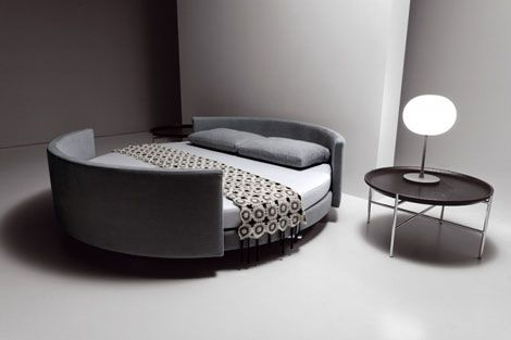 Modern Contemporary Bed & Sofa from Saba Italia