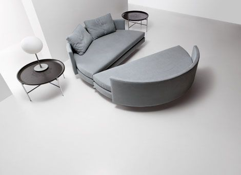 Contemporary Bed & Sofa Saba Italia