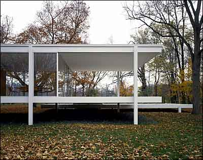 Modern architecture - Farnsworth House :  architecture farnsworth modern house