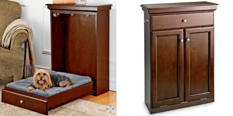A Space Saving Murphy Bed for Your Pet