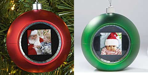 Christmas Ornaments Goes Digital