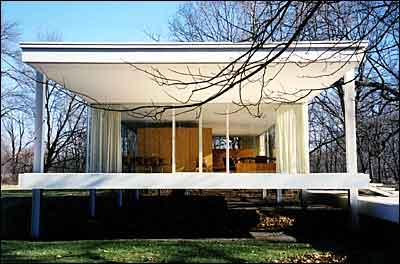 Modern architecture Farnsworth House - Stylehive - ^