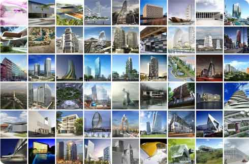 Top 100 of the Most Viewed Architectures of 2007