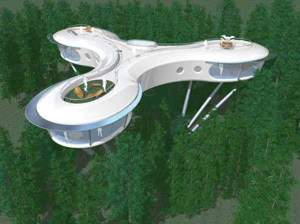 modern tree house Top 8 Most Amazing Tree Houses